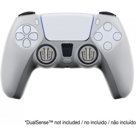 Playstation 5 - Siliconen controller skin en thumb grips voor PS5 DualSense controller - Transparant