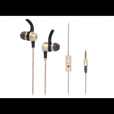 Rampage Snopy In-Ear koptelefoon SN-J9 Native - Goudkleurig