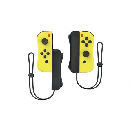 Under Control - Nintendo Switch ii-con Controllers - Geel met polsbandjes