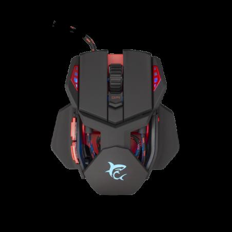 White Shark LANCELOT GM-9002 Gaming muis met RGB verlichting en 6400 dpi - Zwart