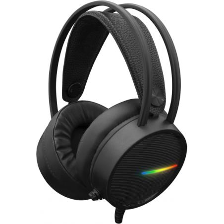 White Shark OCELOT GH-2042 PC Gaming Headset met LED verlichting - Zwart