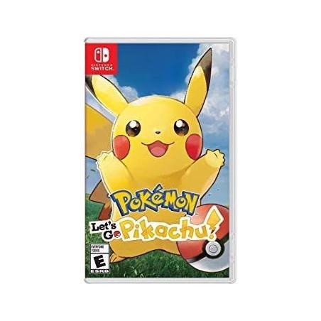 Pokemon Lets Go Pikachu - Nintendo Switch Game