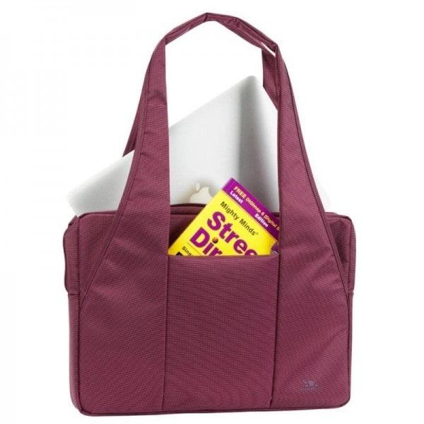 8f2346d213e RivaCase purple Laptop bag 15,6