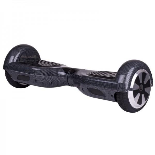 """U-Runner Hoverboard met luchtbanden 10"""" Carbon"""