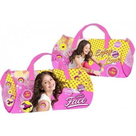 Disney Soy Luna Enjoy Love - Sporttas - 43 cm - Roze - Geel