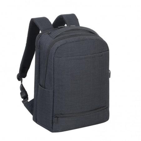 839b1683281 RivaCase - Laptop Rugzak - 17.3 Inch - Extra vak voor 10.1 Inch tablet -  Zwart
