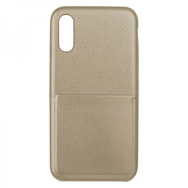KSIX Gestipte Cover - iPhone X - Goud