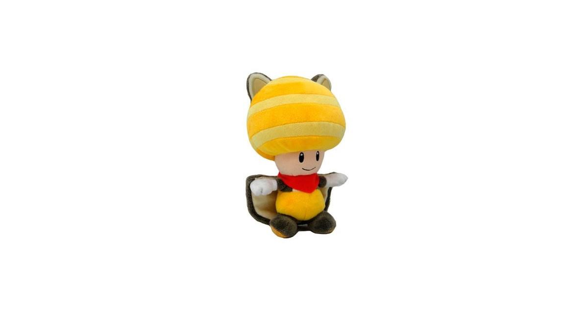 PlushToad flying squirrel Yellow 20cm