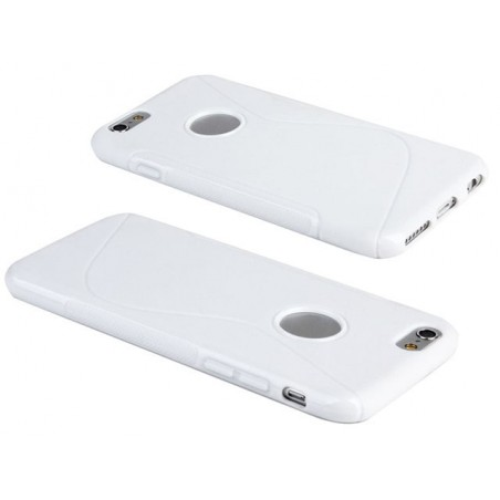 AA Iphone 6 S-Line (White) Gel Case