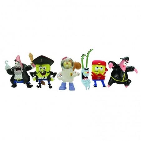 SpongeBob Minifiguren Serie 2 - 6 Stuks