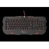 Genesis RX66 QWERTY Gaming Toetsenbord - Zwart