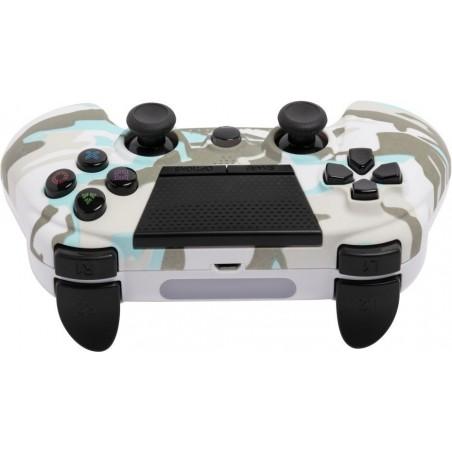 PlayStation4 draadloze controller met koptelefoon aansluiting - Snow White Camo