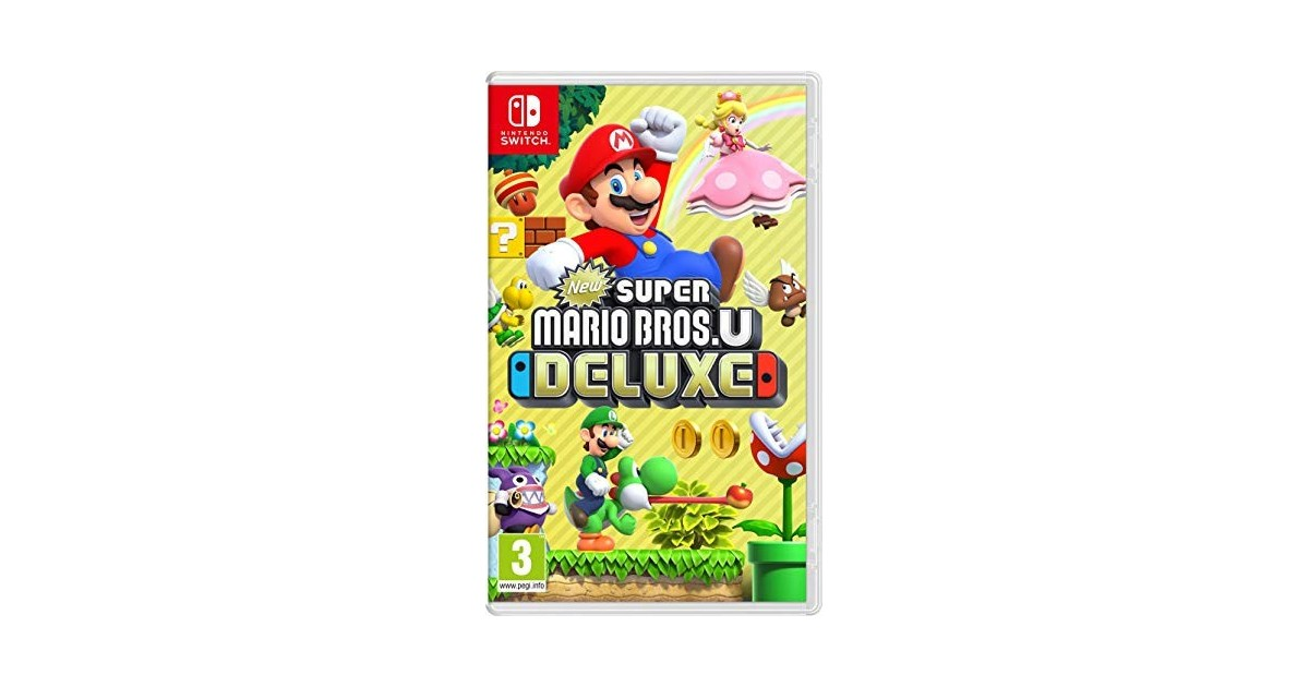 Super Mario Bros. U Deluxe Nintendo Switch Game