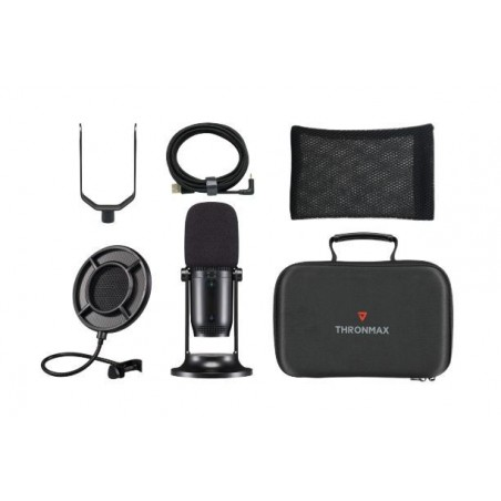 Thronmax - MDrill One Pro Studio Kit - met o.a. microfoon en travel case - 96 KHz