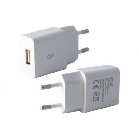 Ksix USB wandlader 2.1A -wit