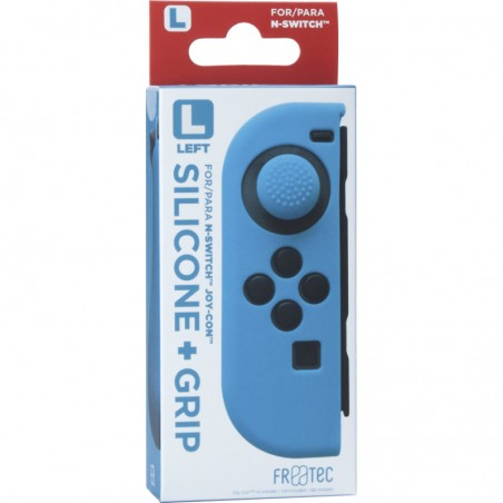 Joy Con Silicone Skin + Grip - Left - blauw voor Nintendo SWITCH